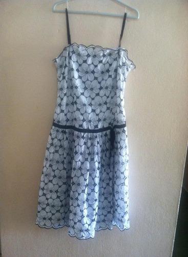 vestido vestido estampado floral max studio  talla 10