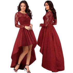 Vestido Santory Color Vino Vestidos Largos Mujer Vestidos