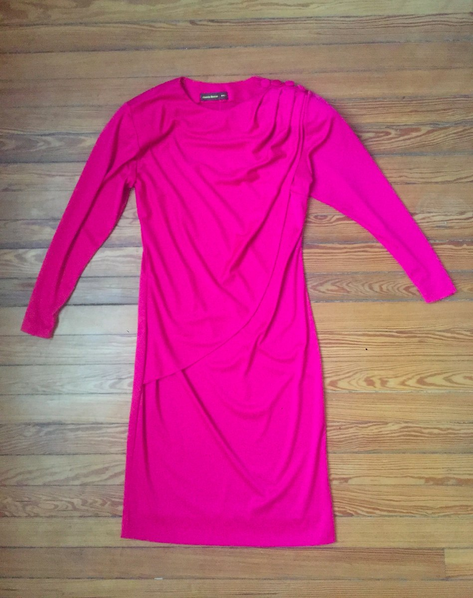 Vestido Vintage Años 80. - $ 900,00 en Mercado Libre