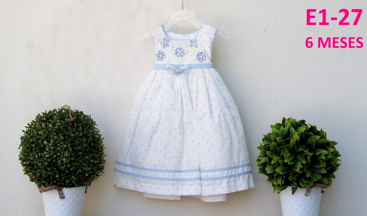 f6990ecb68c78 Vestido Vintage Moda Niña Bebe 6 Meses Alta Calidad -   450.00 en ...