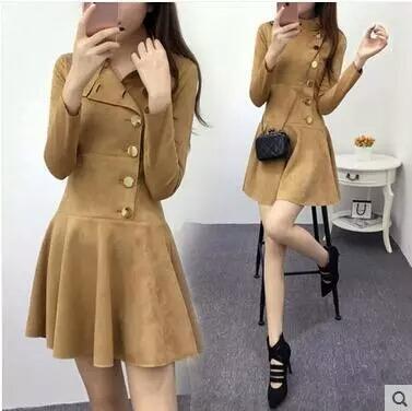 vestido vintage moda otoño-invierno