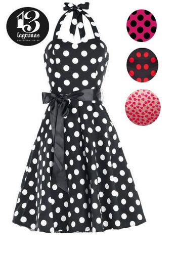 vestido vintage pin up  rockabilly estilo años 50s. book 15