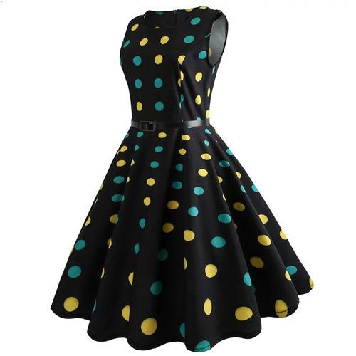 vestido vintage retro