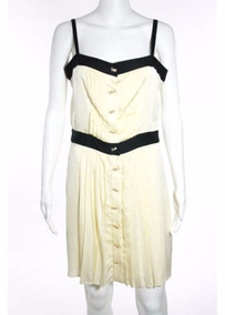a19ff012f Vestido Vintage Seda Milly Of New York Net A Porter