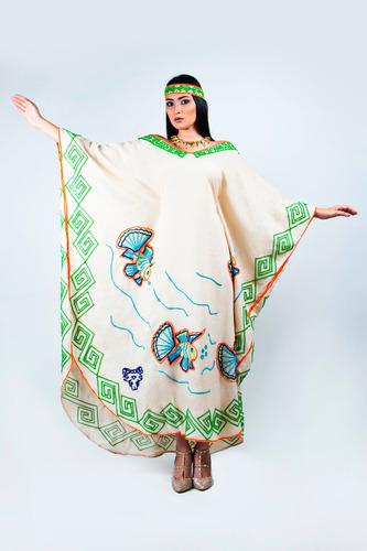 vestido wayuu wayuushei'in (manta larga)