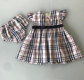 d916aeb92 Vestido Burberry Bebe - Calçados, Roupas e Bolsas no Mercado Livre ...