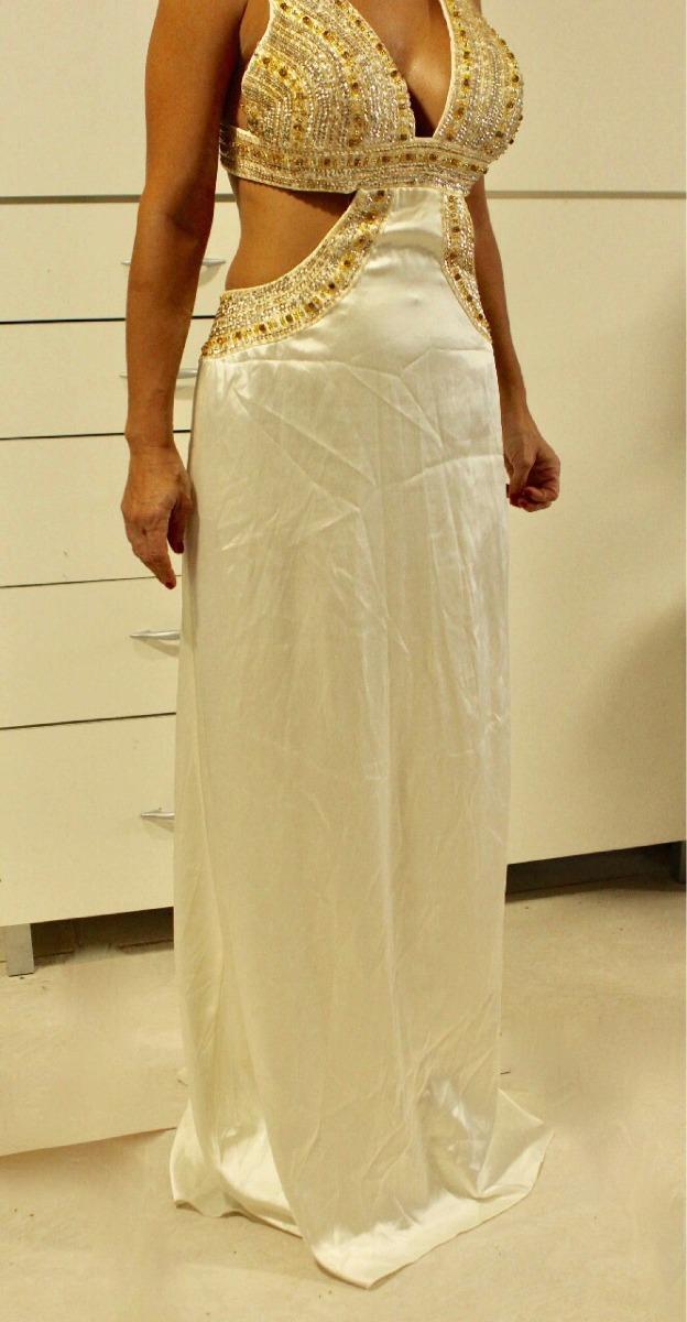 948157aabd vestido xs alta costura de fiesta importado. Cargando zoom.
