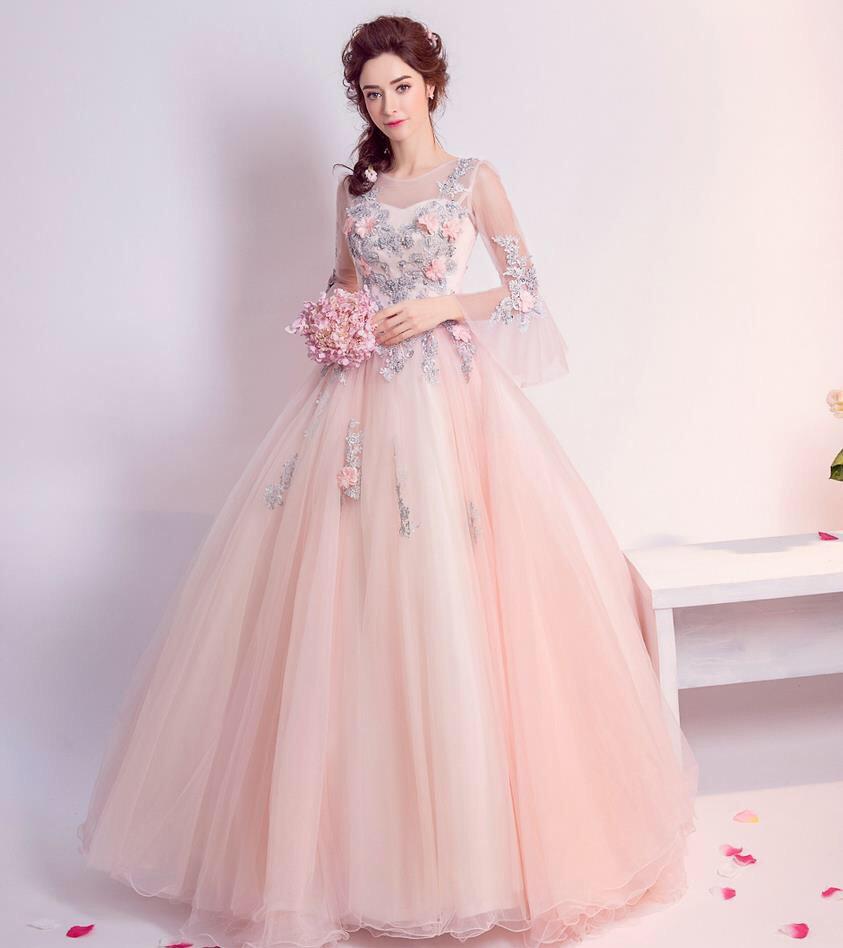 e6aa0931d4e vestido xv años 15 rosas bordadas 3d transparencias. Cargando zoom.