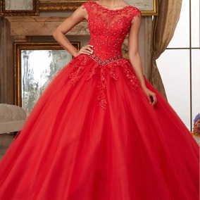 Vestidos Para Xv Años Rojos De Mujer Morelos Vestidos