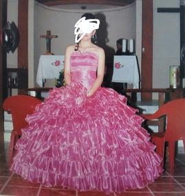 9c122e42f Vestido Xv Años Color Rosa en Mercado Libre México