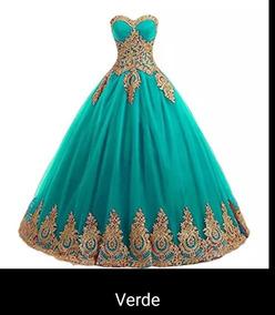 Vestido Xv Años Disponible Todos Los Colores Xq Dc3