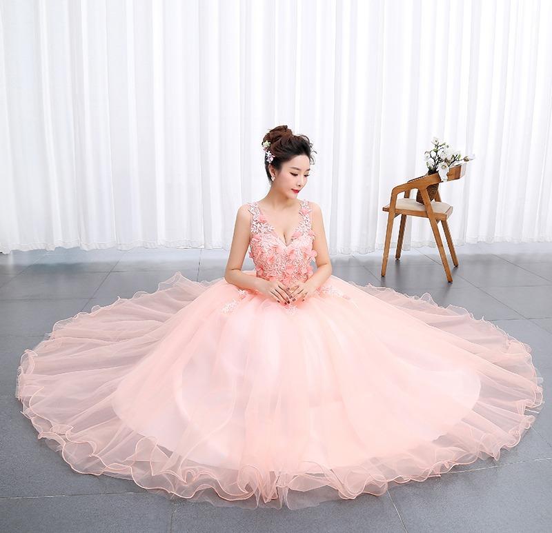 b30b27284 vestido xv años quinceañera princesa flores tul y encajes. Cargando zoom.