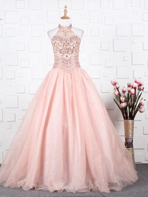 Vestido De Xv Color Rosa Fresa Vestidos Vestidos De 15 En