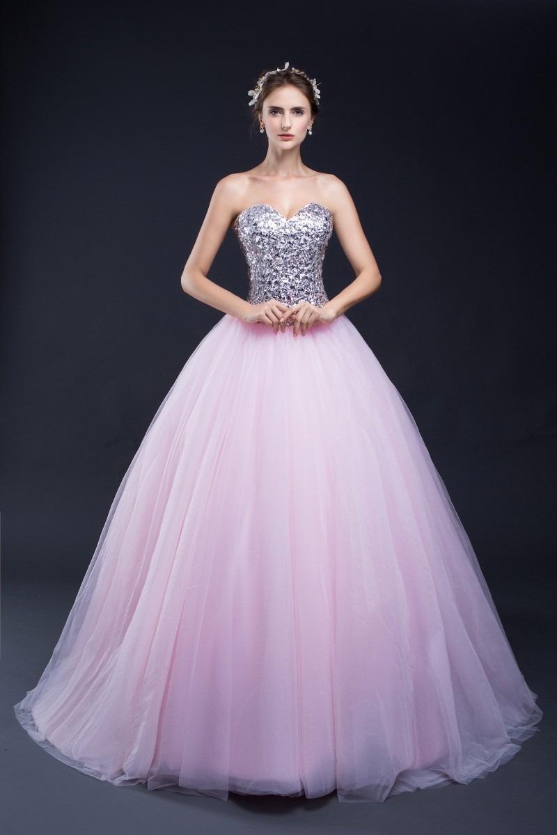 8176a6e9a vestido xv años rosa con plata envió gratis ! q-30287. Cargando zoom.