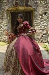 Vestidos De Xv Guindas Vestidos De 15 Largo En