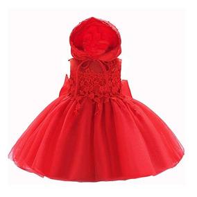 2c269d1a5b Vestidos Para Bautizo De Manta Ropa Bebes Ninas en Mercado Libre México