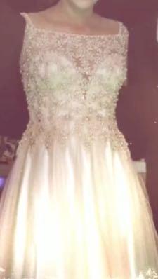 vestido xv's
