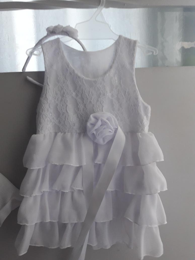 a71cf6a90 vestido y conjunto para bautismo o fiesta. talle ideal 1 año. Cargando zoom.