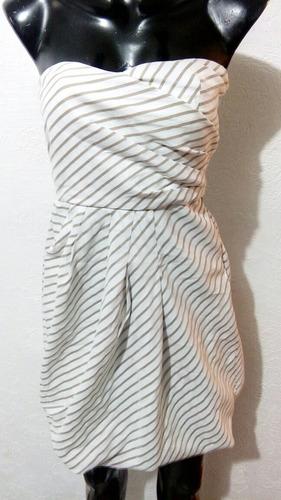 vestido zara basic talla 5 con resorte