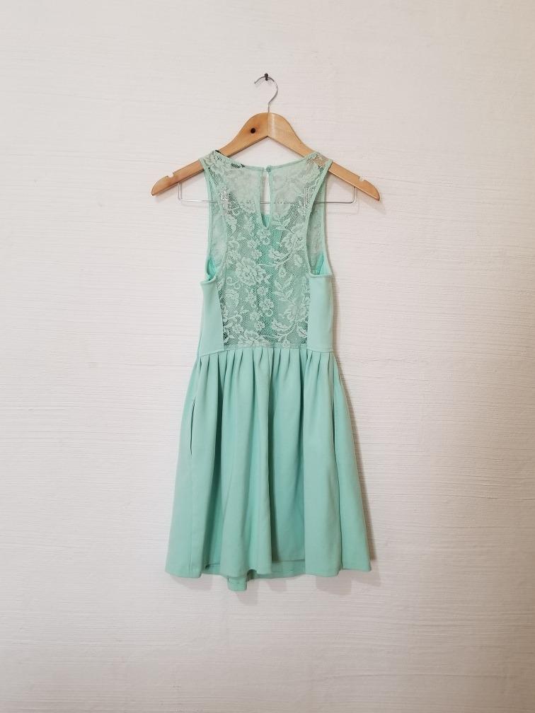 Vestido Cargando Zara Vestido Menta Zoom Zara 7xqg58Zvw 99b0b5405fe6