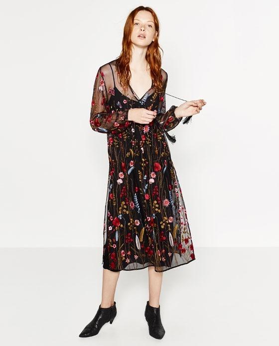 MlTendencia MujerUnico En Ideal Zara Para Vestido Salir roCdBeQxW