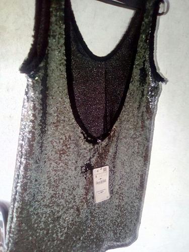 vestido zara original con super descuento