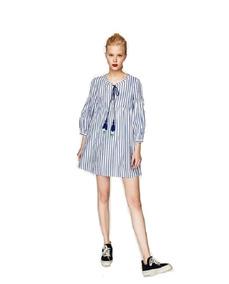 diseñador de moda descuento especial de Venta de liquidación 2019 Vestido Lana Zara - Ropa y Accesorios Azul claro en Mercado ...