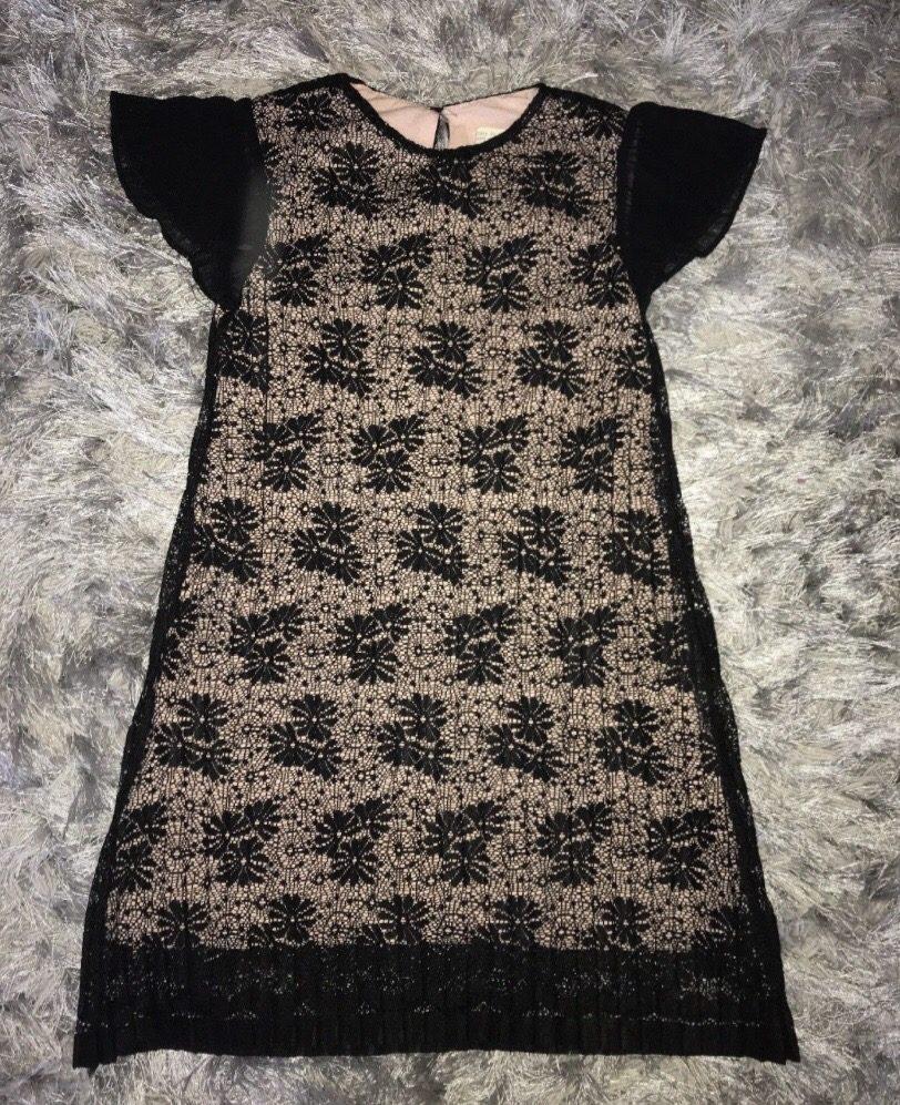 Vestido De Encaje Zara Ropa y Accesorios en Mercado Libre