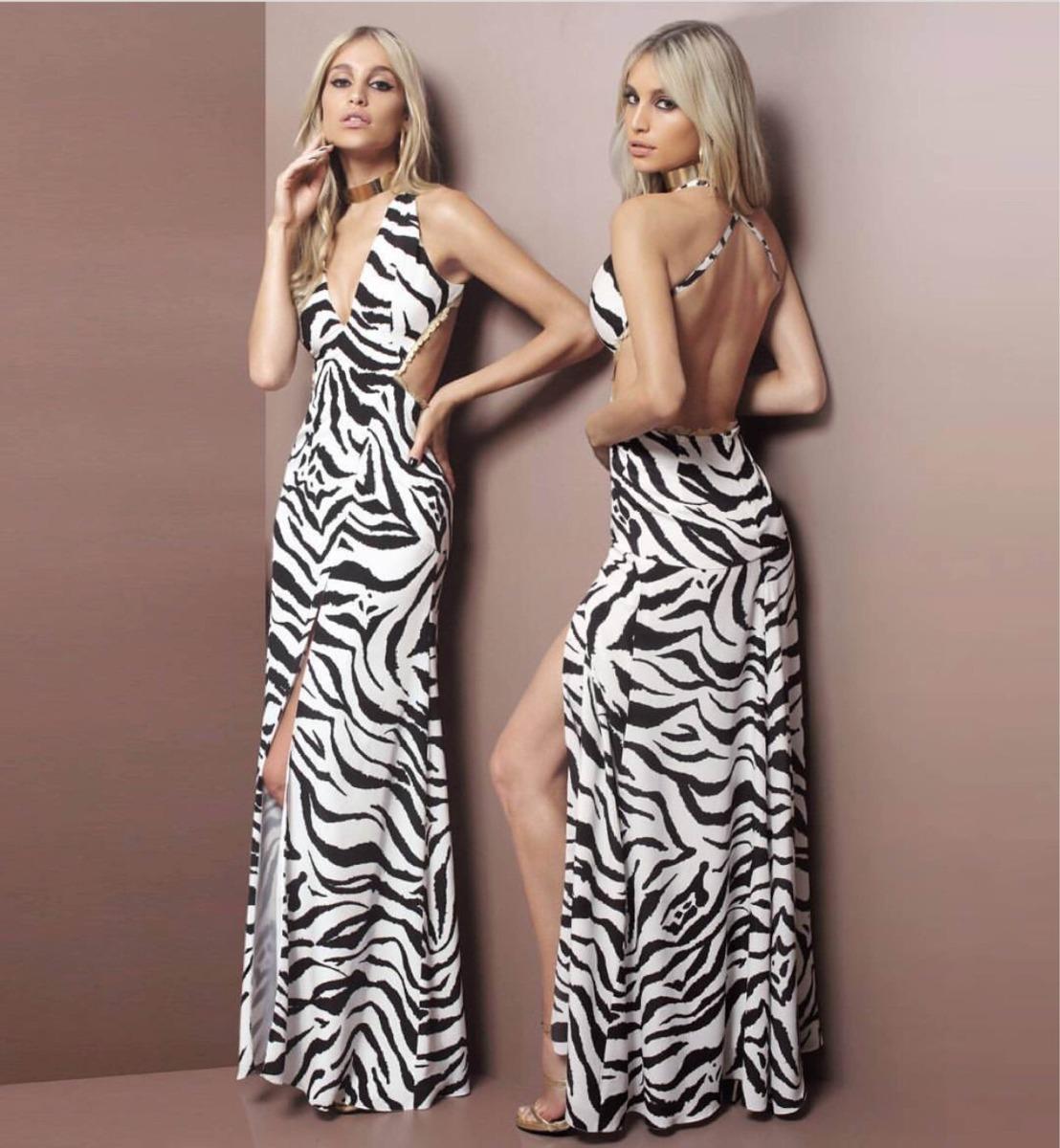 4f17637d05 vestido zebra agilità fabulous. Carregando zoom.