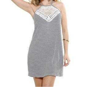 086f41d2e Lindo Vestido Preto Com Detalhe Em Renda ... Chic D+ - Vestidos ...