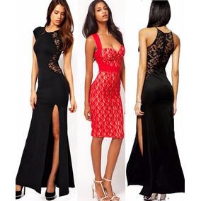 0304948a37a0e Vestido Noche Largo Gala - Vestidos de Fiesta Largos de Mujer en ...