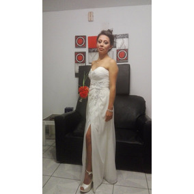 0b935c9e6 Vestidos Perla De Boda Civil en Mercado Libre Perú