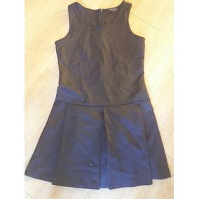 c7fb759094 Vestido Nuevo Marca Frágil De Sears Talla G Negro Tablones