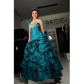 61c8c56a0 Vestido 15 Anos Color Uva - Vestidos Azul petróleo en Mercado Libre ...