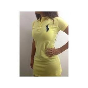 ace01e0a5 Vestido Polo Play - Vestidos Femininas Magenta no Mercado Livre Brasil