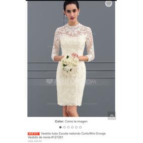 a1687fcc2c1 Vestido Blanco Corto Esponjoso - Vestidos de Novia de Mujer en ...