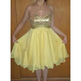 387185ff69 Vestido De 15 Color Bordo - Vestidos de Mujer Dorado oscuro en ...