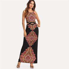 c34ab1ad24 Vestido Elegante Estampados - Vestidos en Mercado Libre Colombia