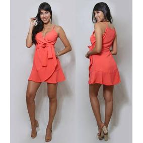 1fd637e89 Vestido Envelope - Vestidos Casuais Femininas Vermelho no Mercado Livre  Brasil