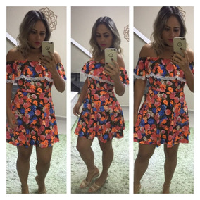 9ad8e9688 Vestido Moda Boneca - Vestidos De Festa Femininas no Mercado Livre Brasil