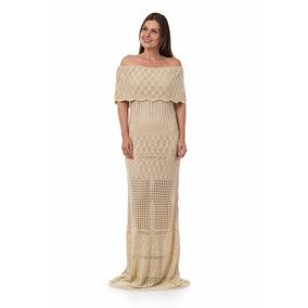 53058984c3 Vestido Em Lã Acrilica - Vestidos Femininas no Mercado Livre Brasil
