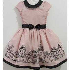 Vestido Kit Infantil Tamanho 6 Vestidos Meninas De Festa