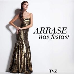 6076f94fb 36 Festa Maravilhoso Vestido Da Forun - Vestidos Longos Femininas ...