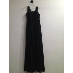 b053fa7ae4 Vestido Largo Negro De Liverpool