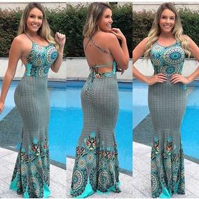 5298287a40 Vestido Longo Verde Pastel Tamanho G - Vestidos Casuais Curtos G Femininas  Verde no Mercado Livre Brasil