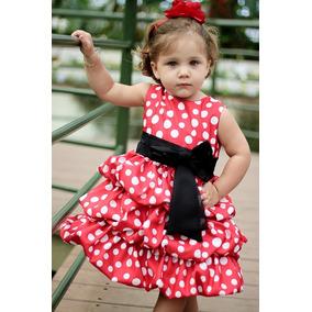 07036ff9d5 Vestido Infantil Veludo Balone Manga Longa - Calçados