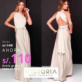 c88194d56 Vestidos Elegantes Para Noche en Mercado Libre Perú