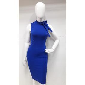 dc7aa6f4bb Vestidos Cortos Azul Turquesa Para L - Vestidos de Mujer en Mercado ...