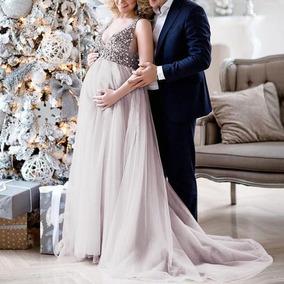 26e568db4 Vestidos Para Sesion De Fotos Embarazada - Vestidos de Mujer Gris ...
