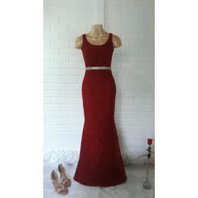 f1ef2a410 Versace Collection - Vestidos Femininas Bordô no Mercado Livre Brasil